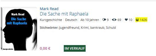 Verkaufszahlen für Die Sache mit Raphaela