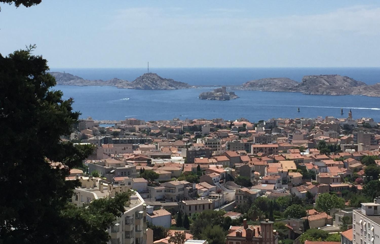Aussicht auf die Îles de Frioul